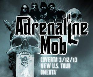 Adrenaline Mob - Coverta - Tour Poster Pic