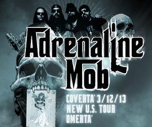Adrenaline Mob - Coverta - Tour Poster Pic