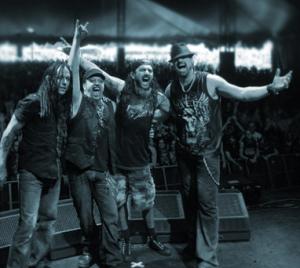 Adrenaline Mob - Live Promo Pic - 2013 - #1