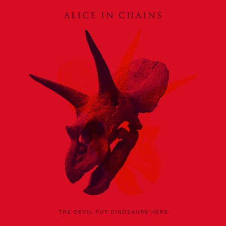 Alice In Chains - The Devil Put Dinosaurs Here - promo cover