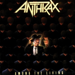 Anthrax - Among The Living - promo cover pic!!