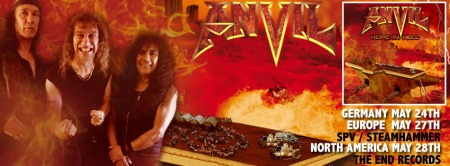 Anvil - Hope In Hell - Group Promo Banner - 2013
