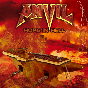 ANVIL - Hope In Hell - promo cover pic