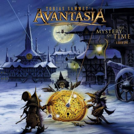 Avantasia - The Mystery Of Time - promo cover pic