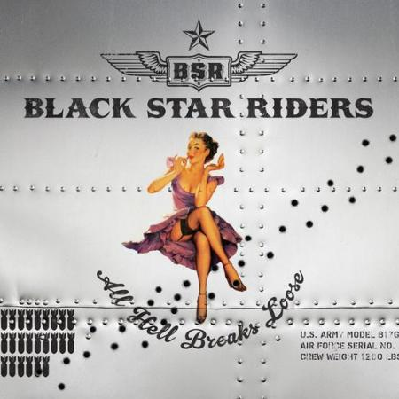Black Star Riders - All Hell Breaks Loose - promo cover