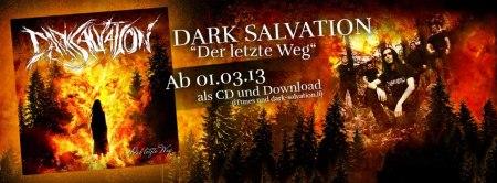 Dark Salvation - Der letzte Weg - promo banner - 2013