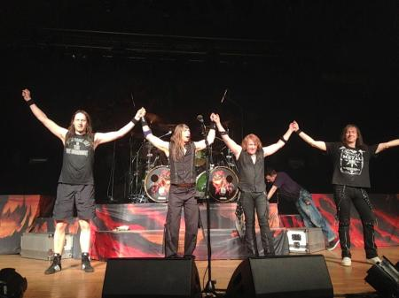 Gamma Ray - Live Group Pic - March - 2013 - #1