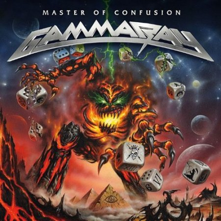 Gamma Ray - Master Of Confusion - promo cover pic