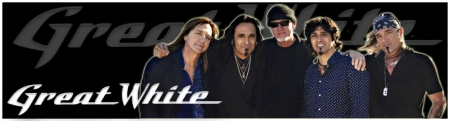 Great White - Group and Logo - promo header -        #1