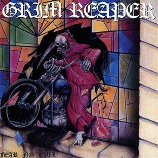 Grim Reaper - Fear No Evil - promo cover pic!