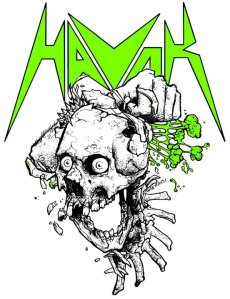 Havok - Logo - skull - band logo