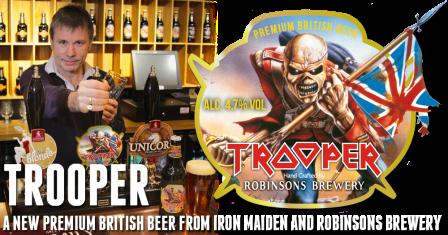 Iron Maiden - brew - promo banner - 2013