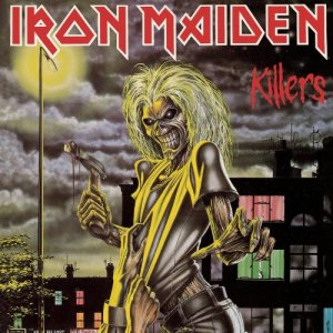 Iron Maiden - Killers - promo cover pic - large!