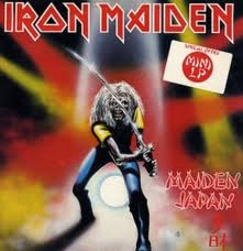 Iron Maiden - Maiden Japan - Live EP - promo cover pic