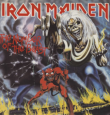 Iron Maiden - The Number Of The Beast - promo cover pic - large