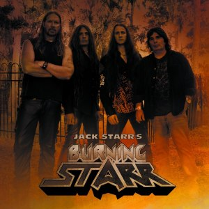 JACK STARR'S BURNING STARR - Promo Group pic - logo - 2013