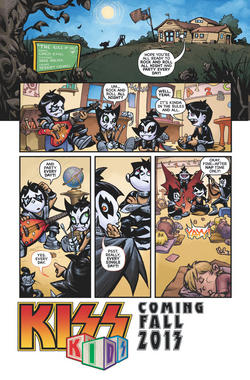 Kiss - Kids - Comics - Promo Pic - 2013