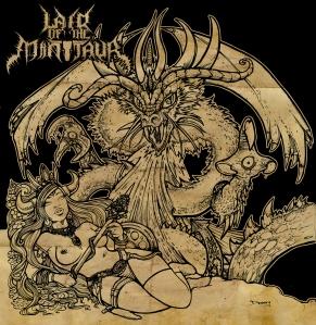 Lair Of The Minotaur - Godslayer EP - Promo Cover - 2013