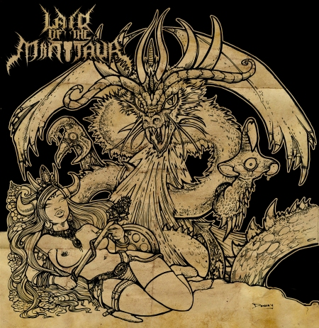Lair Of The Minotaur - Godslayer EP - Promo Cover - 2013