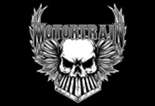 Motortrain - classic logo - B&W