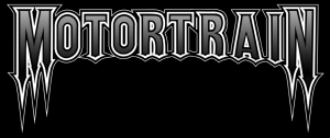 Motortrain - large logo - B&W