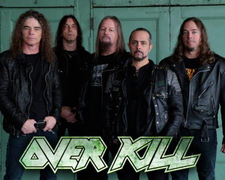 Overkill - Group and Logo - promo pic - #1