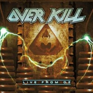 Overkill - Live From Oz - promo cover pic