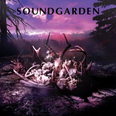 Soundgarden - King Animal - Demos - vinyl - promo cover