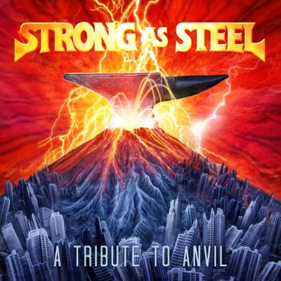 Strong As Steel - A Tribute To Anvil - promo cover pic!