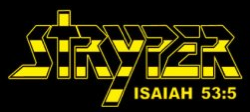 Stryper - Band Logo - 2013 - Yellow & Black