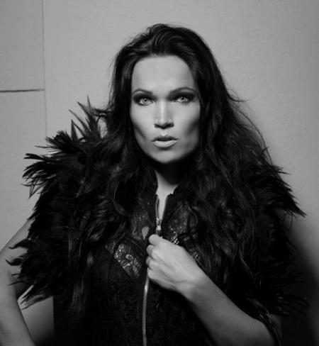 Tarja Turunen - promo pic - 2013 - B&W - #1