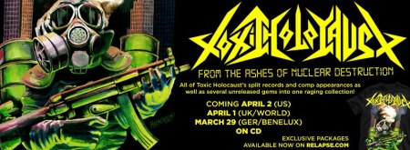 Toxic Holocaust - From The Ashes - promo banner - 2013