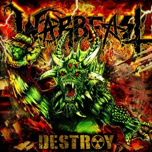 Warbeast - Destroy - promo cover pic