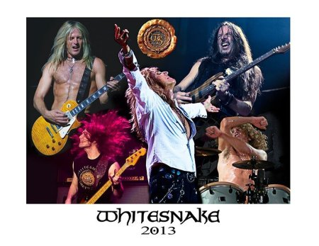 Whitesnake - 2013 - collage promo pic!