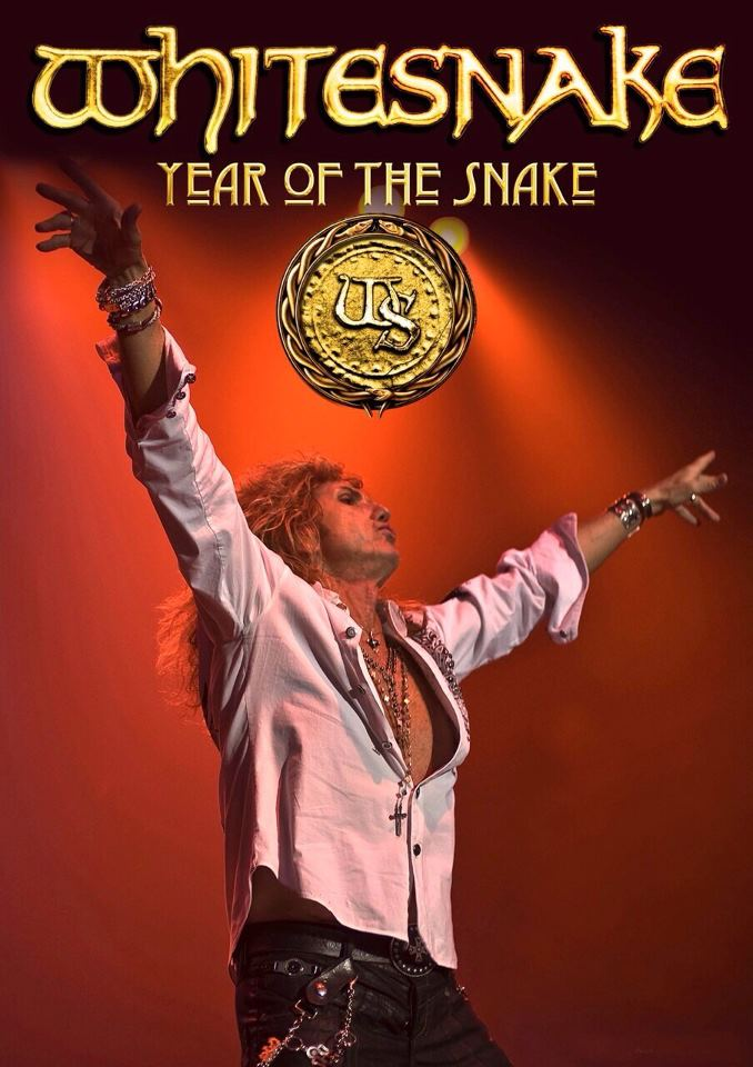 """WHITESNAKE """"Year Of The Snake"""" Is: Stone's METAL Pick Of The Day! 