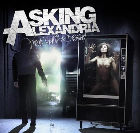 Asking Alexandria - From Death To Destiny - promo cover pic