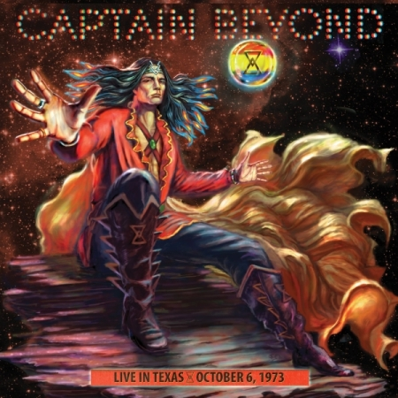 Captain Beyond - Live In Texas - 1973 - promo cover