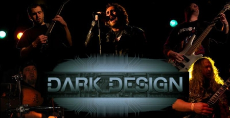 Dark Design - band mural - logo - 2013
