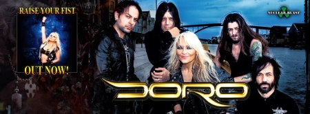 Doro - Raise Your Fist - Group Promo Banner - 2013