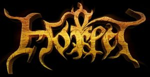Horlet - large logo - gold