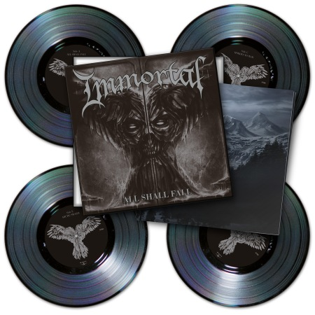 Immortal - All Shall Fail - Vinyl Box Set - promo pic