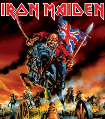 IRON MAIDEN - Maiden England - 88 - cover promo