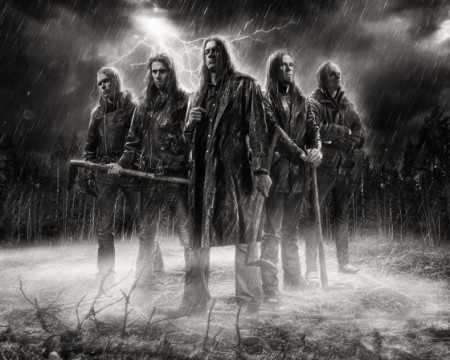 Kalmah - Group Promo Pic - 2013 - #1