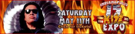 Kiss Expo - Indianapolis - promo banner - 2013