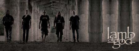 Lamb Of God - Promo Group Banner - 2012