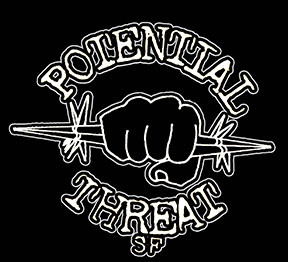 Potential Threat SF - large logo - B&W
