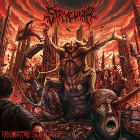 Strychnia - Reanimated Monstrosity - promo cover pic