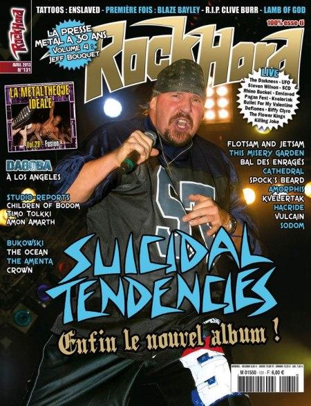 Suicidal Tendencies - ROCK HARD mag - promo cover
