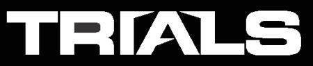 Trials - large logo - B&W