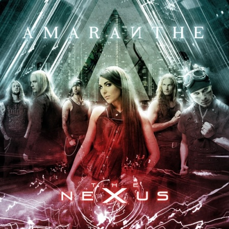 Amaranthe - The Nexus - large promo cover pic